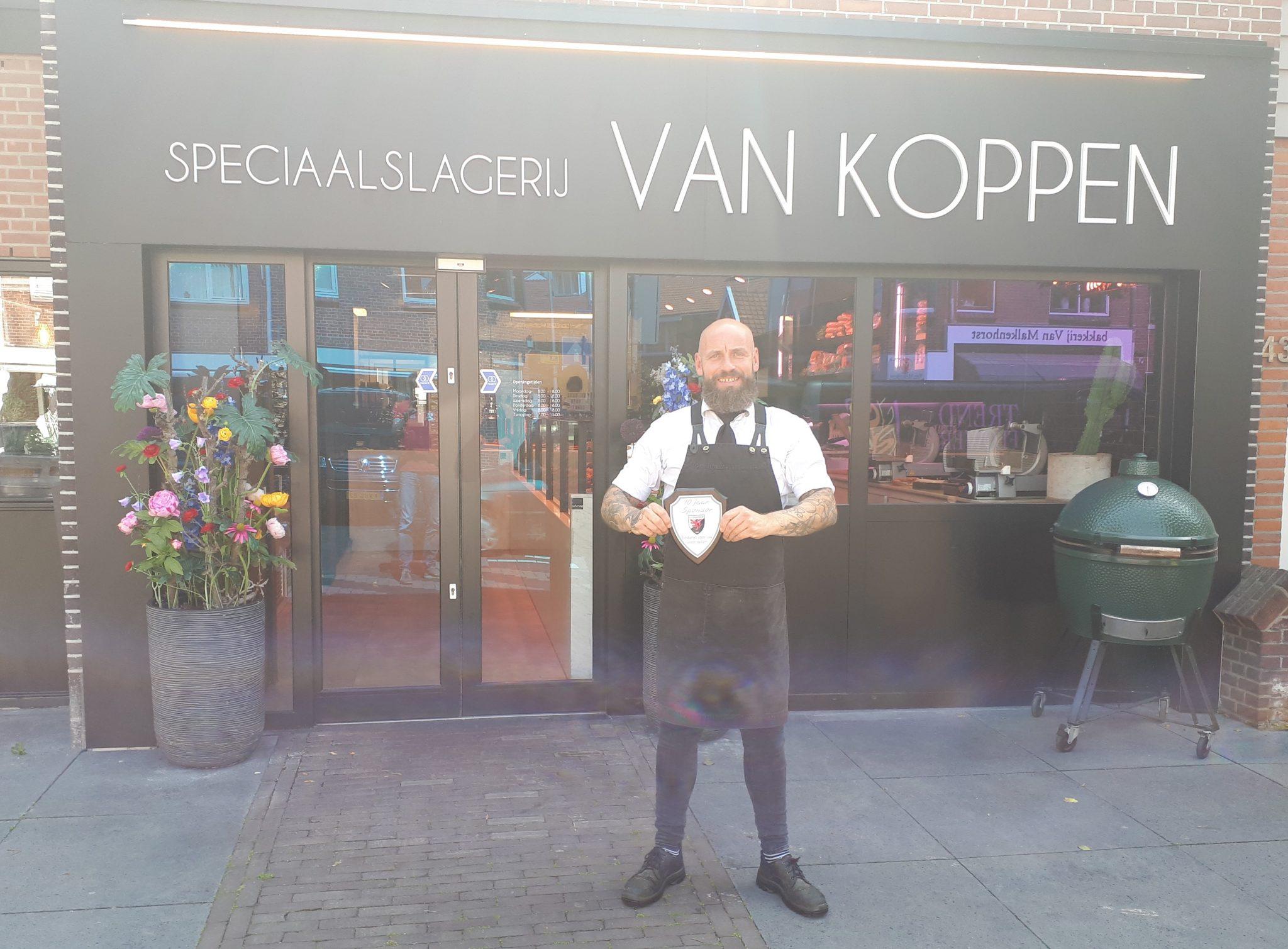 Jubileum sponsor Slagerij van Koppen in de spotlight