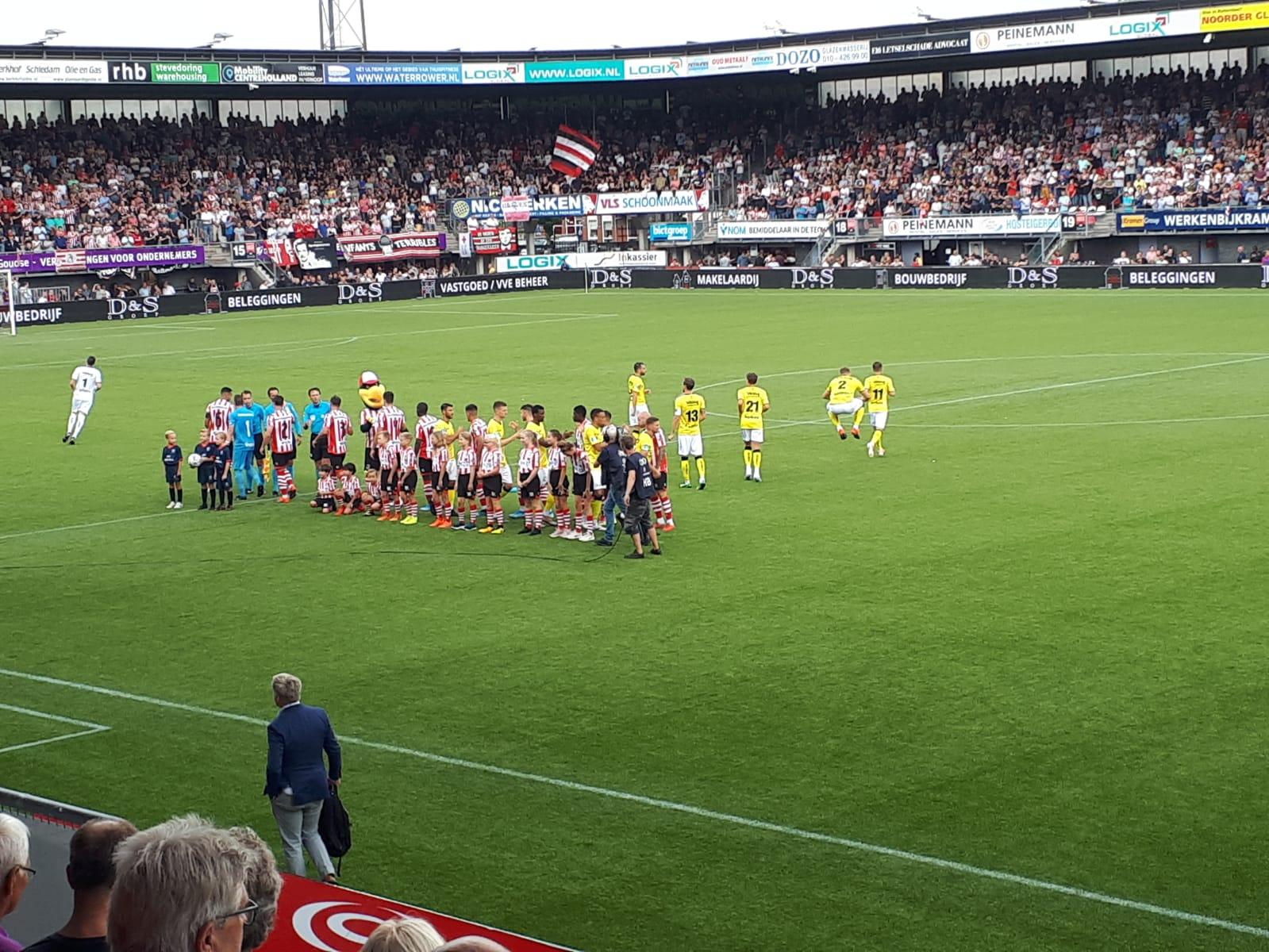 Geslaagde sponsoravond VV Naaldwijk bij Sparta - VVV