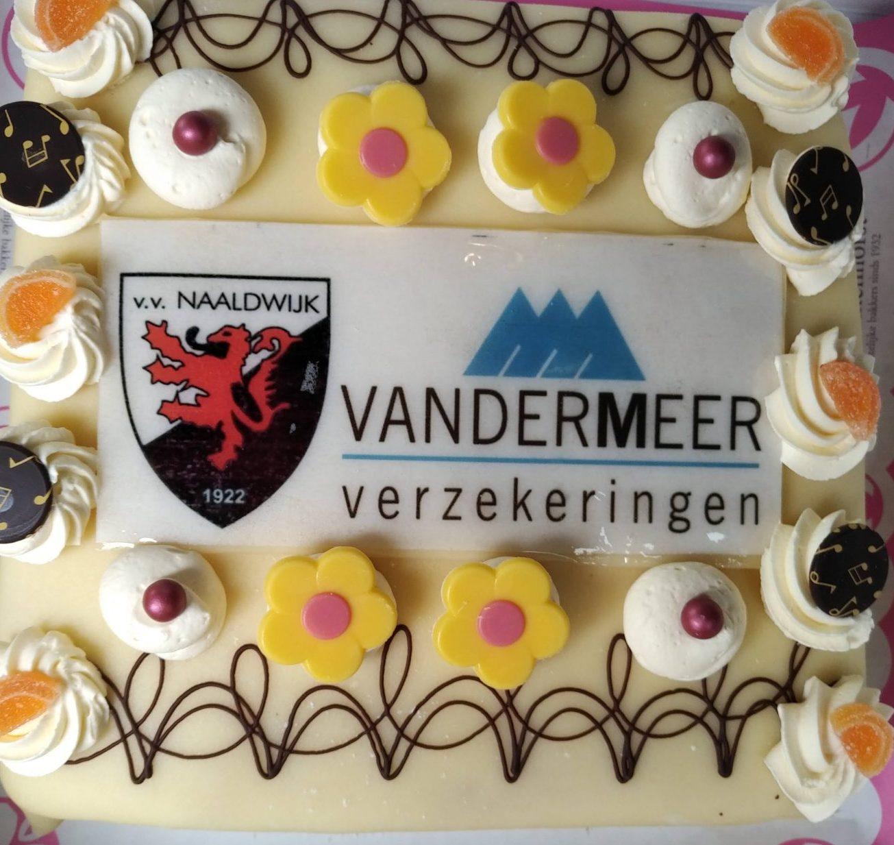 Van der Meer verzekeringen nieuwe hoofdsponsor vv Naaldwijk Zami 1