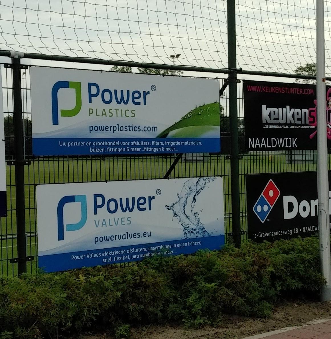 Power Plastics nieuwe sponsor bij vv Naaldwijk