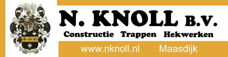 N Knoll BV opnieuw sponsor bij vv Naaldwijk