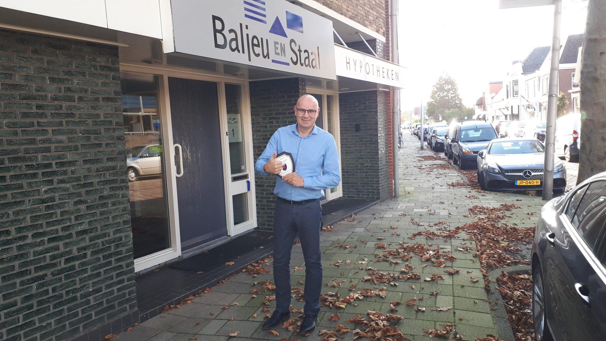 Baljeu en Staal al 14 jaar trouwe sponsor vv Naaldwijk