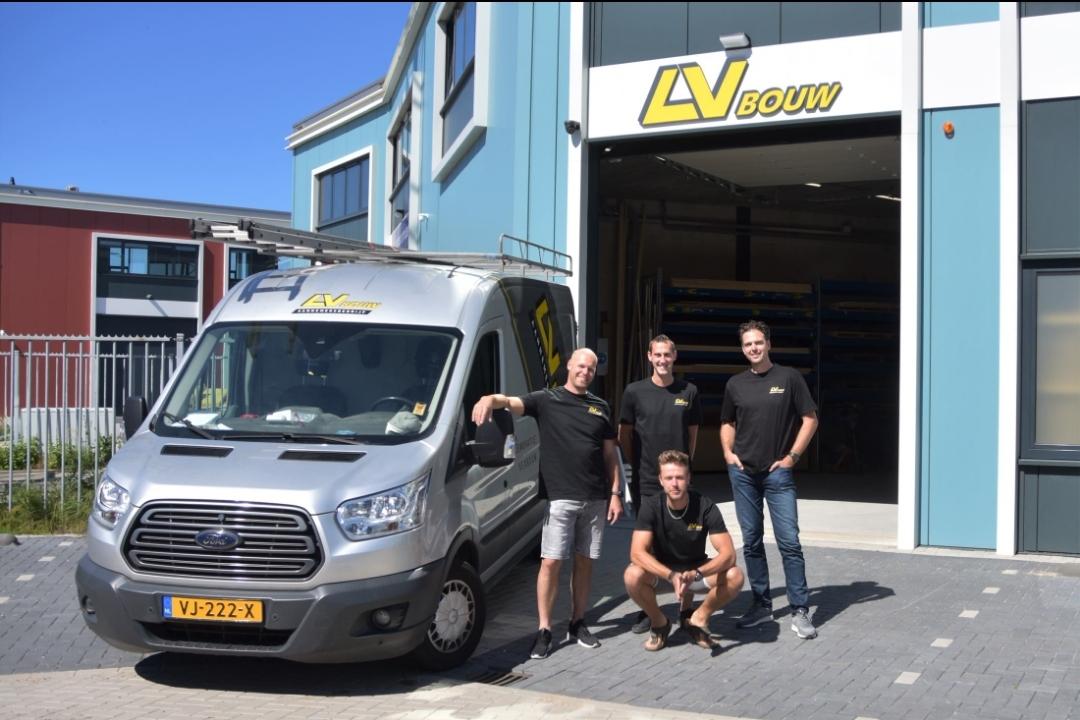 LV Bouw aannemersbedrijf al jaren trotse sponsor van v.v. Naaldwijk