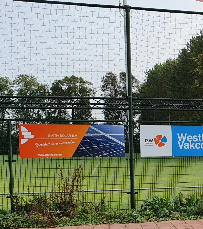 Smith Solar nieuwe sponsor bij vv Naaldwijk