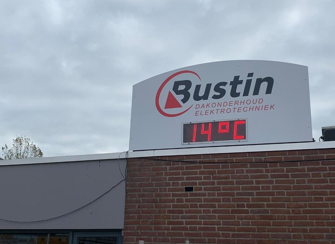 Met Bustin zit u altijd droog!
