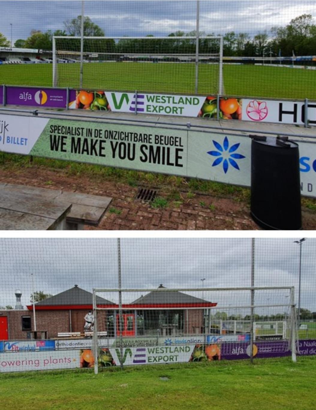 Westland Export nieuwe sponsor bij vv Naaldwijk