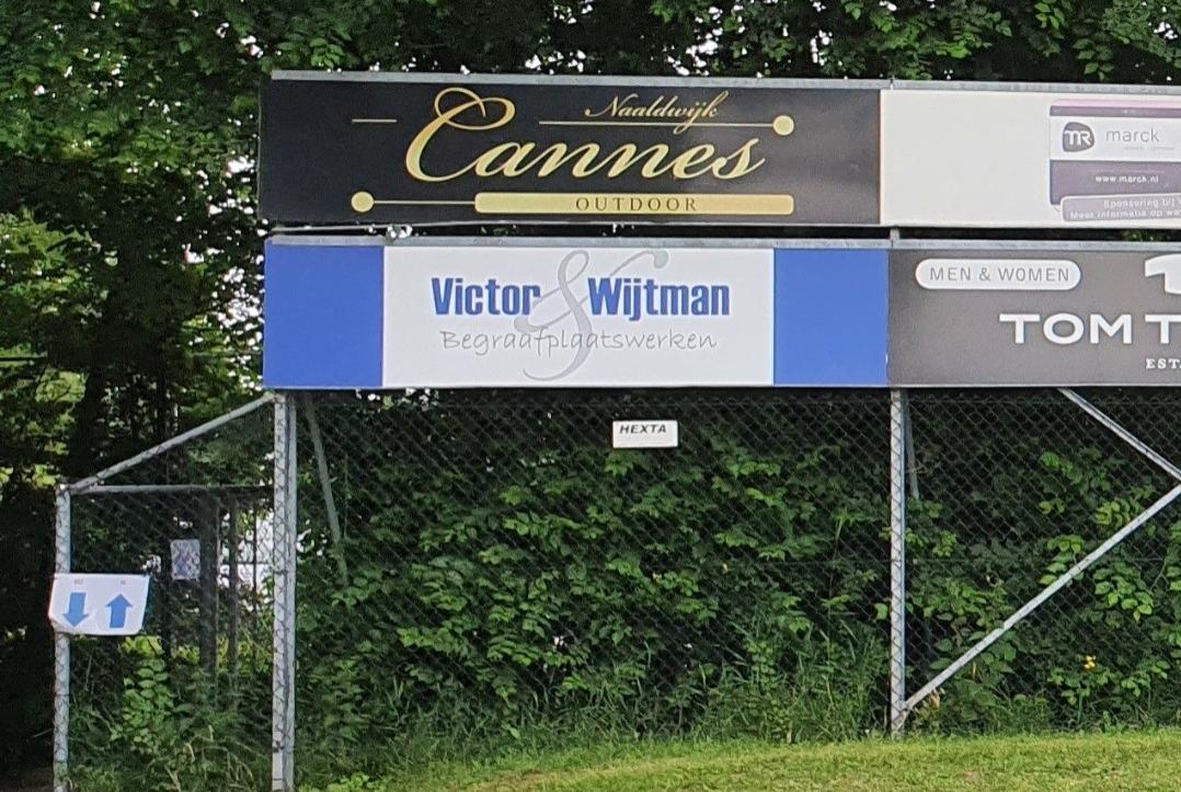 Victor en Wijtman Begraafplaatswerken nieuwe sponsor bij vv Naaldwijk