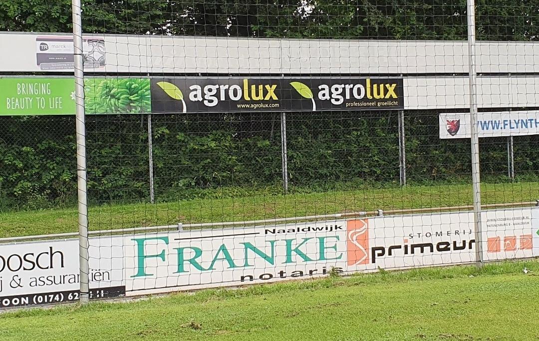 Agrolux verlengt sponsoring bij vv Naaldwijk
