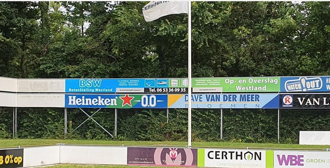 Boten Stalling en Opslag Westland B.V nieuwe sponsor bij vv Naaldwijk