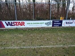 Vos en Overkleeft opnieuw sponsor bij vv Naaldwijk