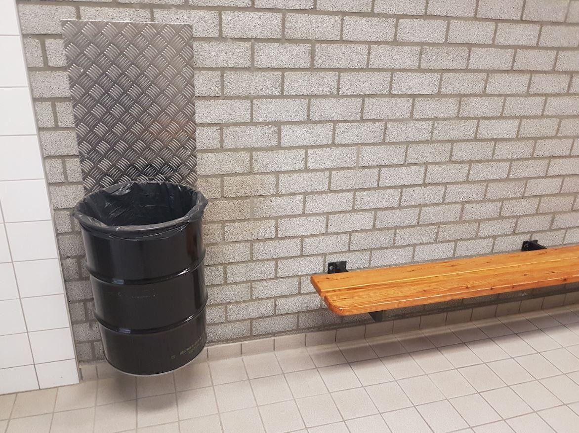 Douches kleedkamers weer vrijgegeven