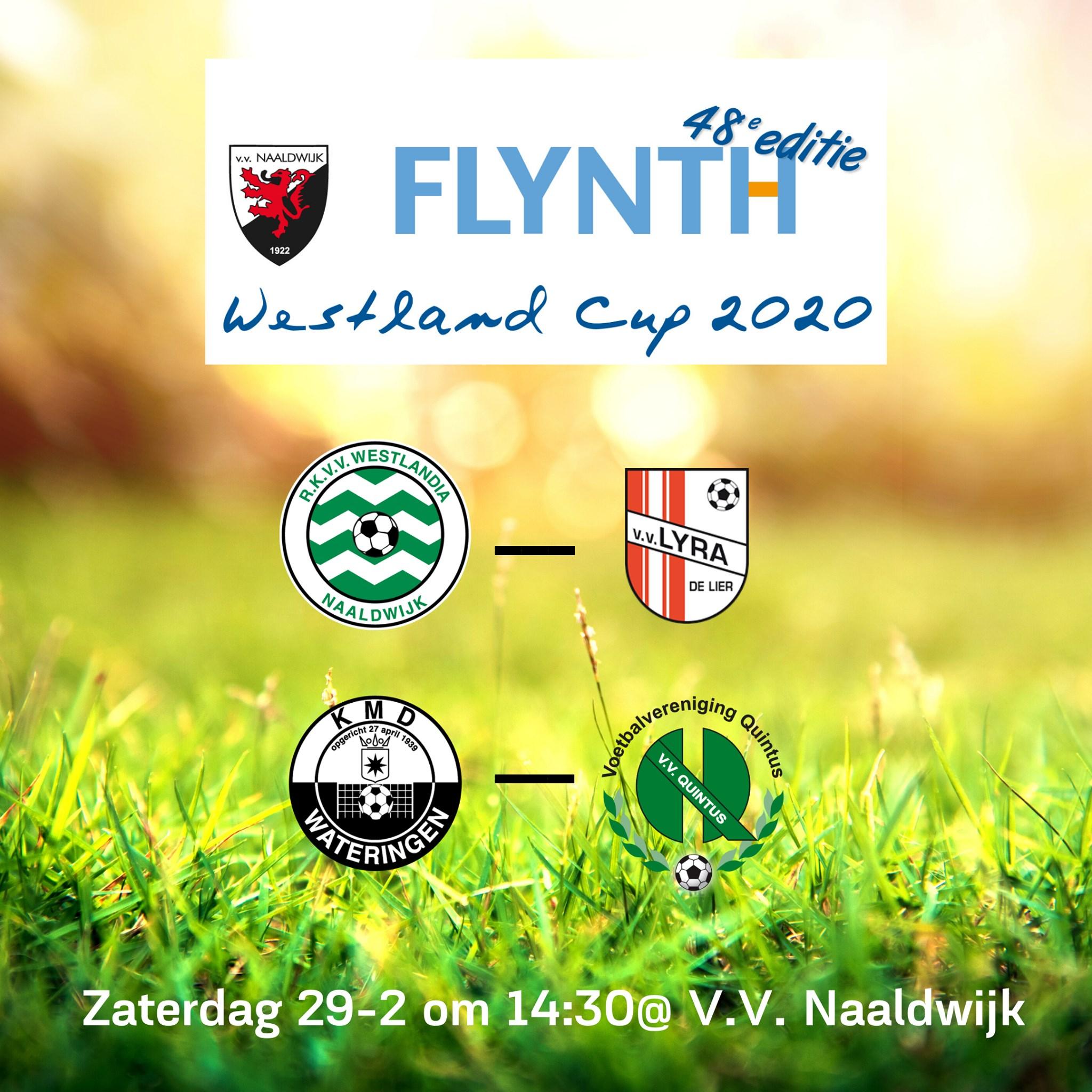 Programma zaterdag 29 februari met o.a. Flynth Westland Cup