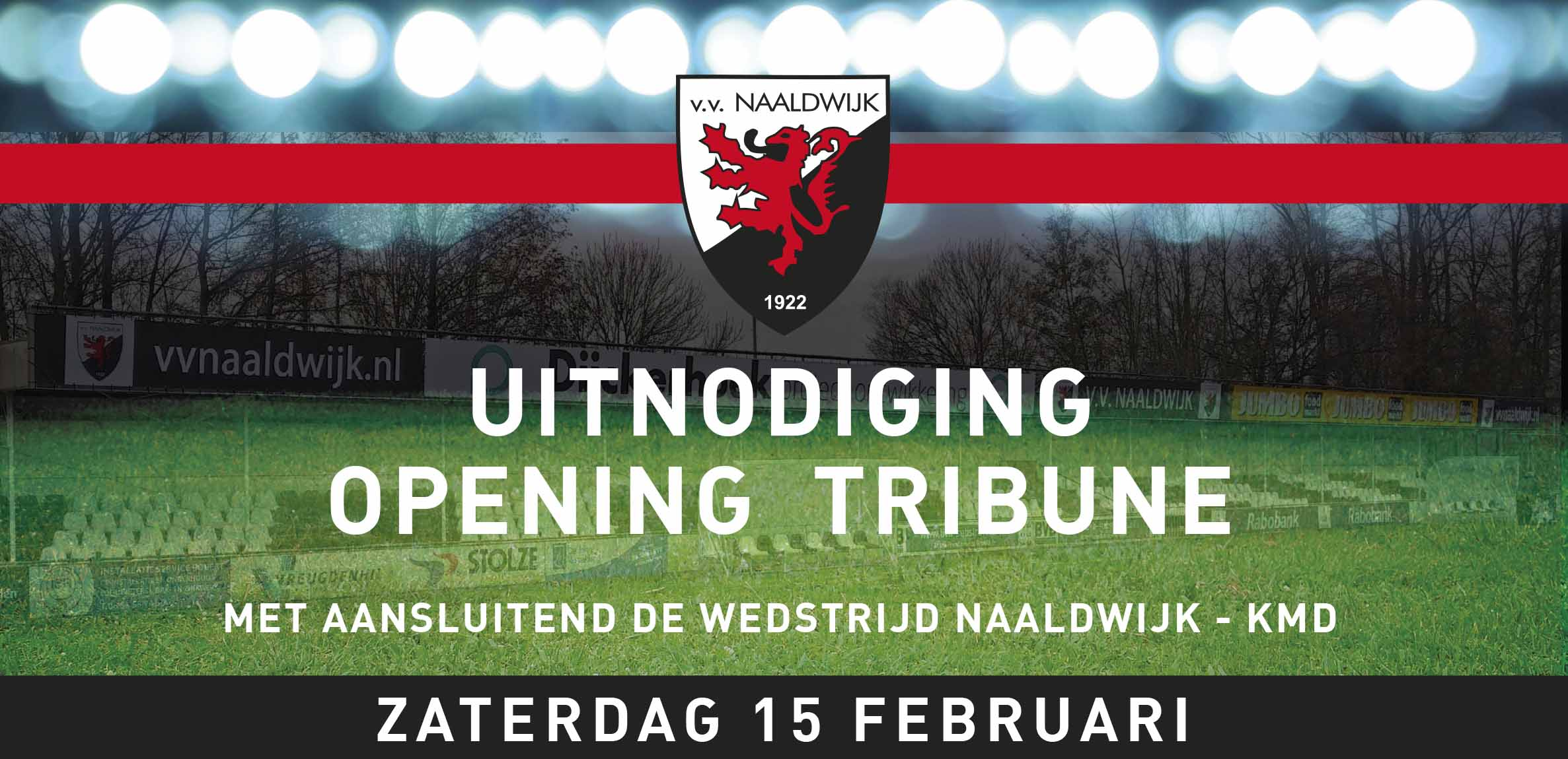 Officiele opening tribune en Super Saturday bij vv Naaldwijk 15 februari 2020